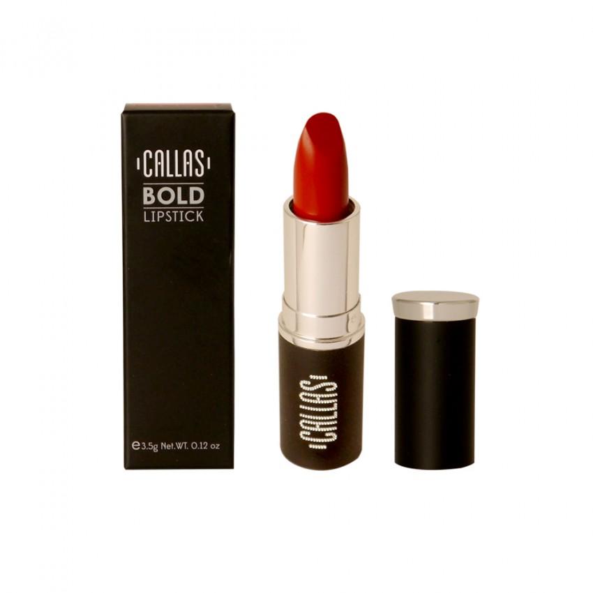 Callas Bold Lipstick (B01 Red Tango ) 0.12oz /3.5g