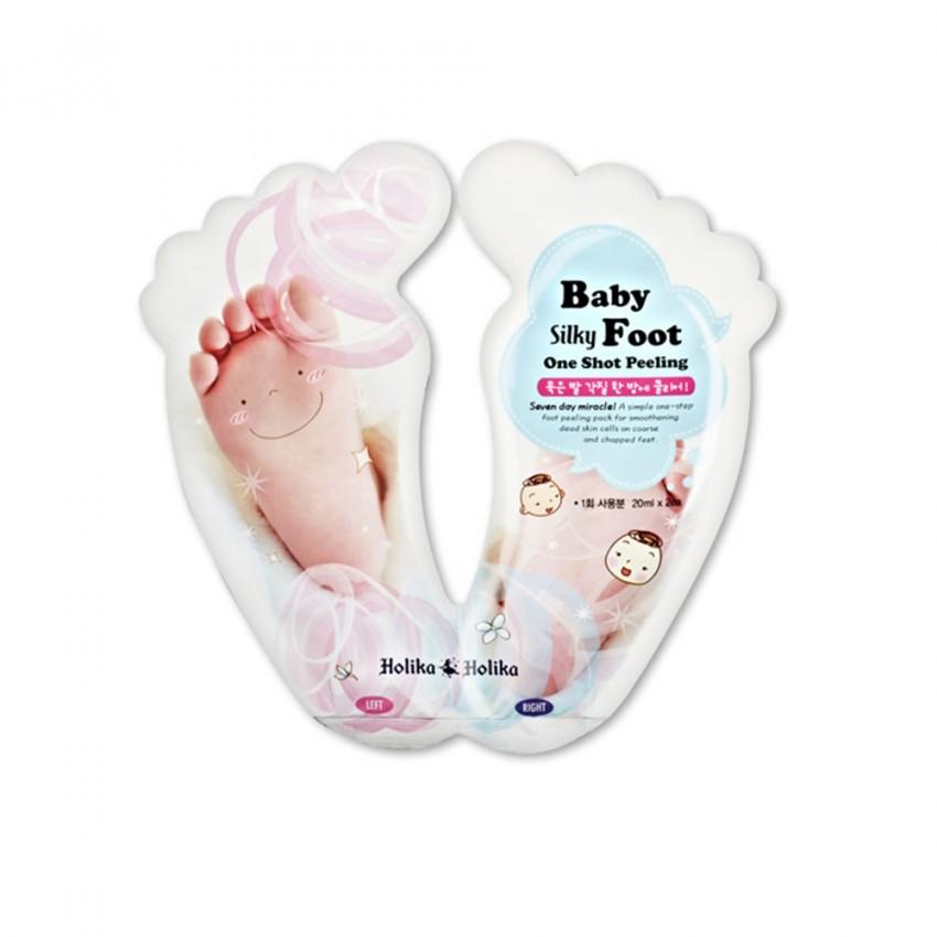 Holika Holika Baby Silky Foot One Shot Peeling (1 time use)  0.68fl.oz/20ml