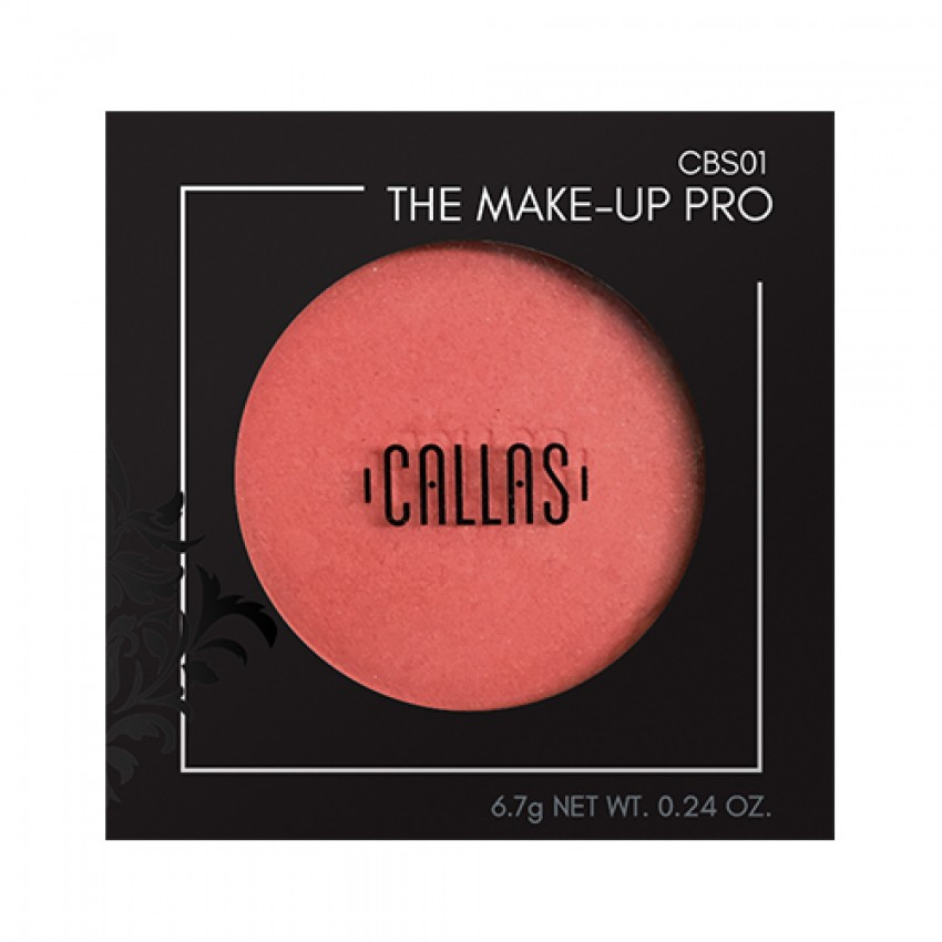 Callas The Make Up Pro Over Blusher (CBS01 New Red) .24oz/6.8g