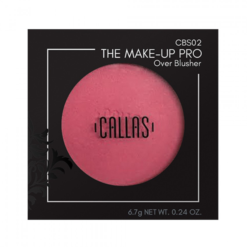 Callas The Make Up Pro Over Blusher (CBS02 Glory Pink) 0.24oz/6.8g