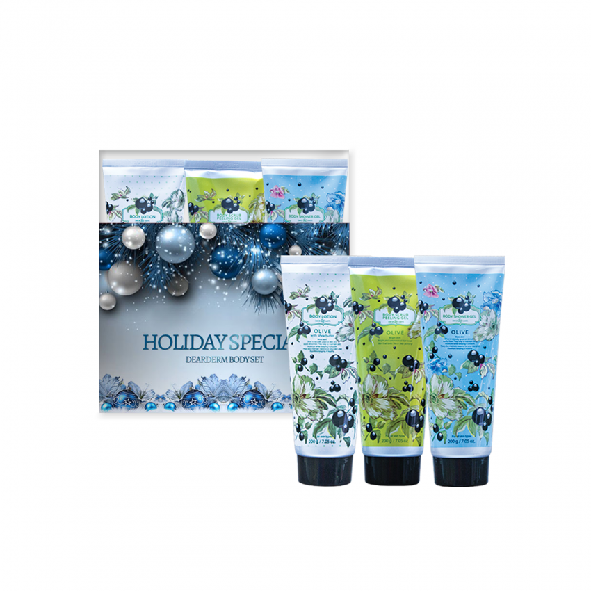 Dearderm Olive Body Set