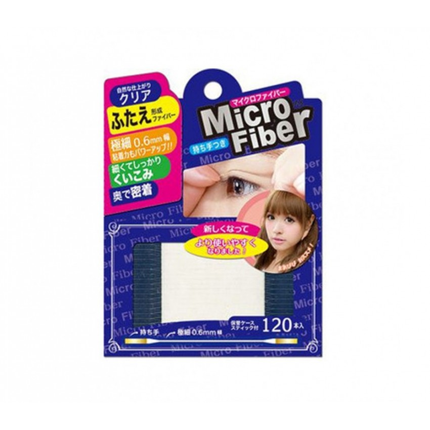 BN Microfiber Double Eyelid Clear Tape ( 120 Pieces )