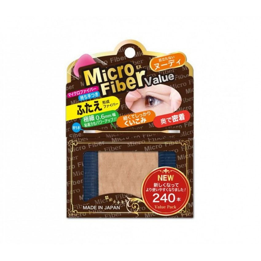 BN Microfiber Double Eyelid Nudy Tape ( 240 Pieces )
