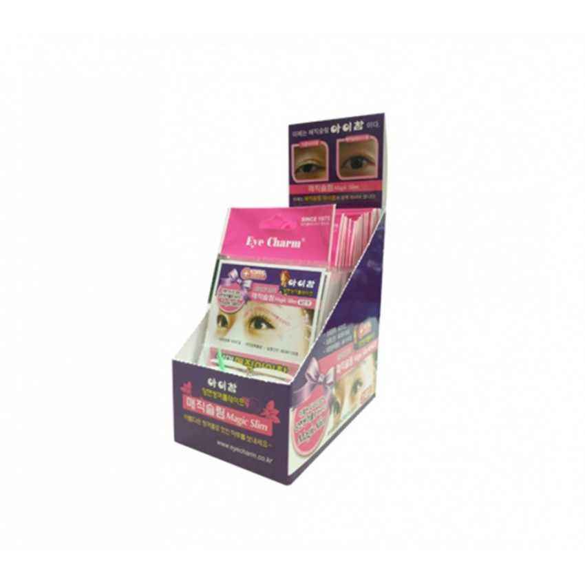 Eye Charm Magic Slim Double Sided Eyelid Tape (25 pkgs. of Retail Display)
