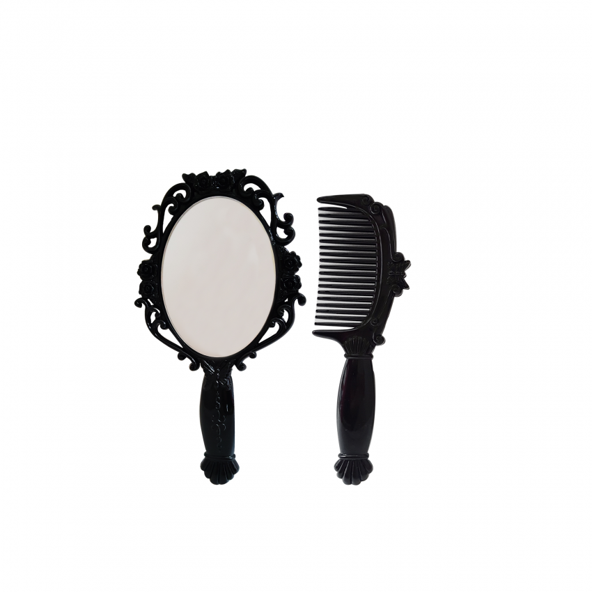 ROSE HAND MIRROR SET (SMALL)
