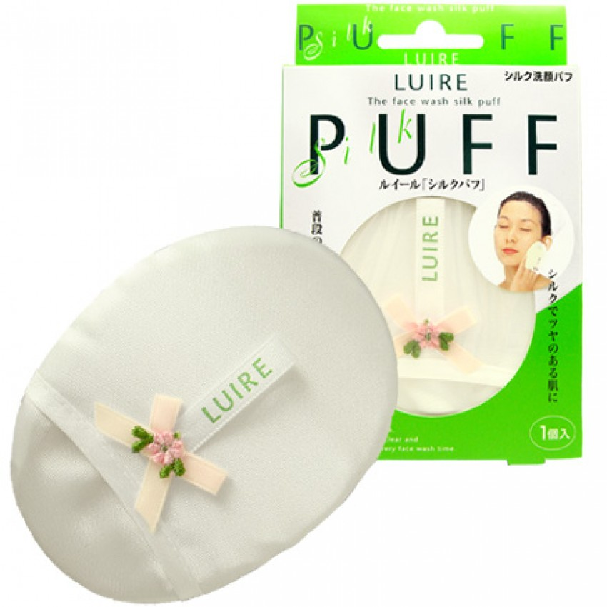 Luire Face Wash Silk Puff(12pcs)