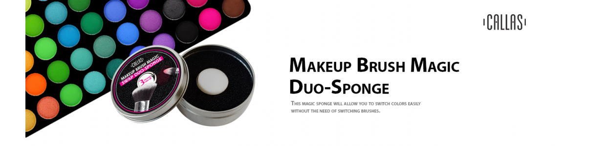 MAKEUP BRUSH MAGIC SWAP DUO-SPONGE