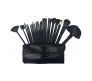 CALLAS 30PCS Professional High-Quality Makeup Brush Tool Set  - BLACK - CR-CMB30SET(B)