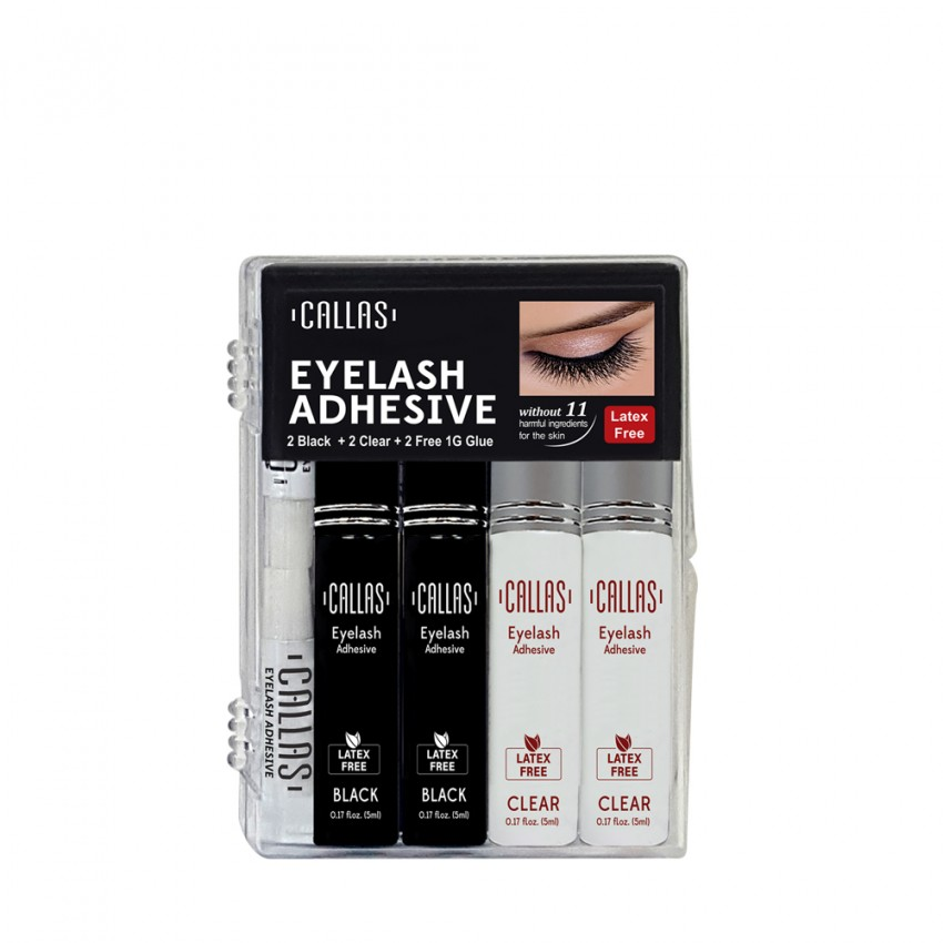 CALLAS Eyelash Adhesive Glue  4PCS SET