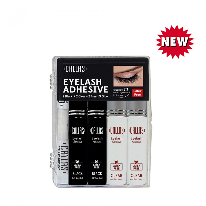 Callas CALLAS Eyelash Adhesive 4PCS SET