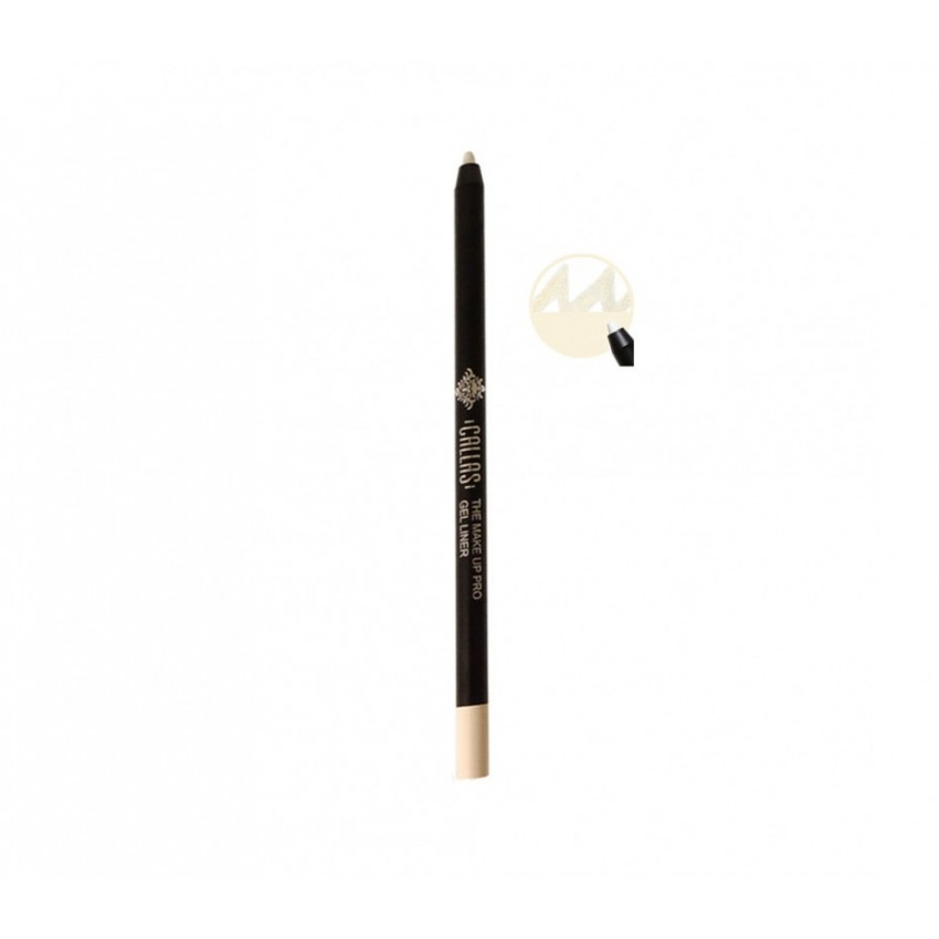 Callas The Make Up Pro Gel Eye Liner (Cream White CGE02) 0.52fl.oz/15.4ml
