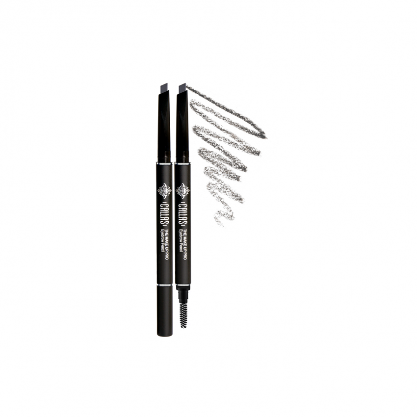 Callas The Make Up Pro Eyebrow Pencil #4 (Silver Gray) With 1 Refill Cartridge