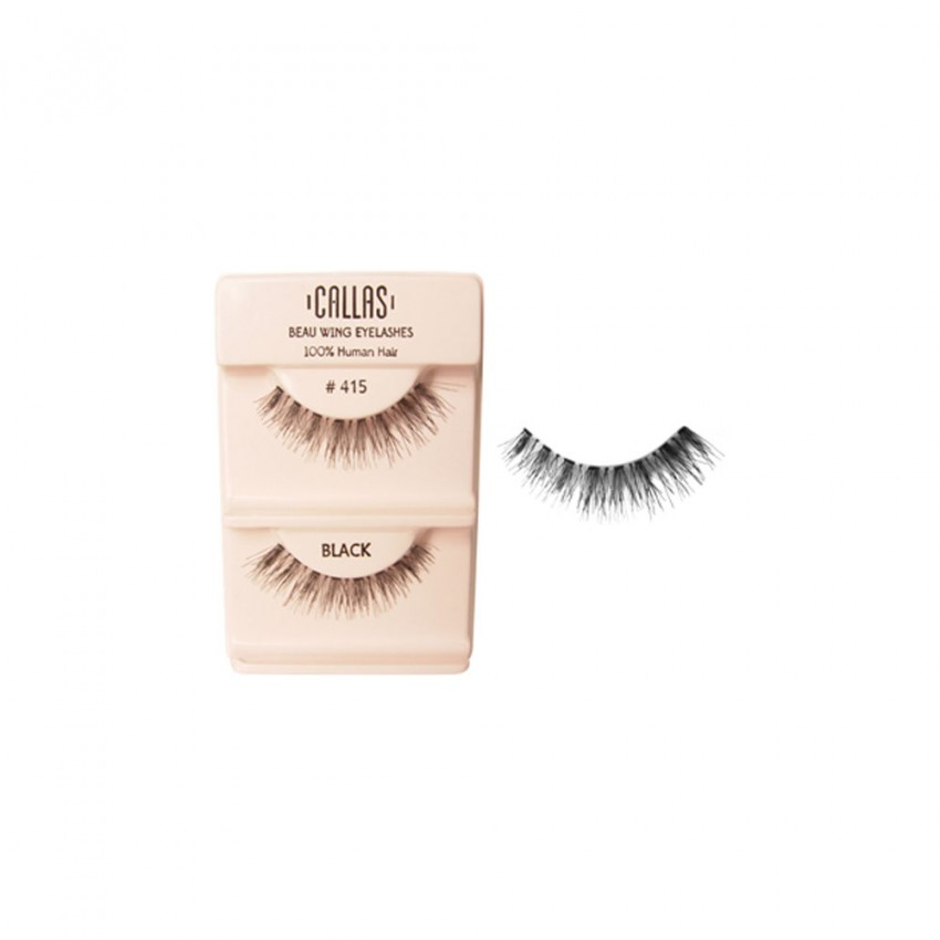 Callas Beau Wing Eyelashes #415 (1 pair x Minimum 12 sets)