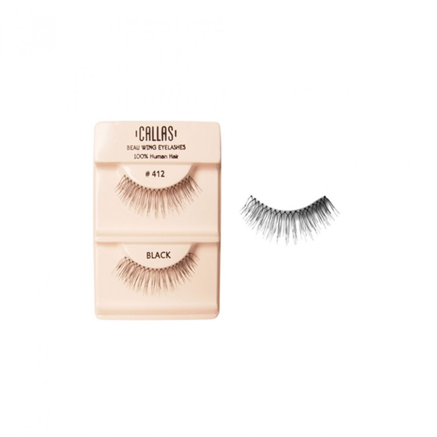 Callas Beau Wing Eyelashes #412 (1 pair x 12 sets)