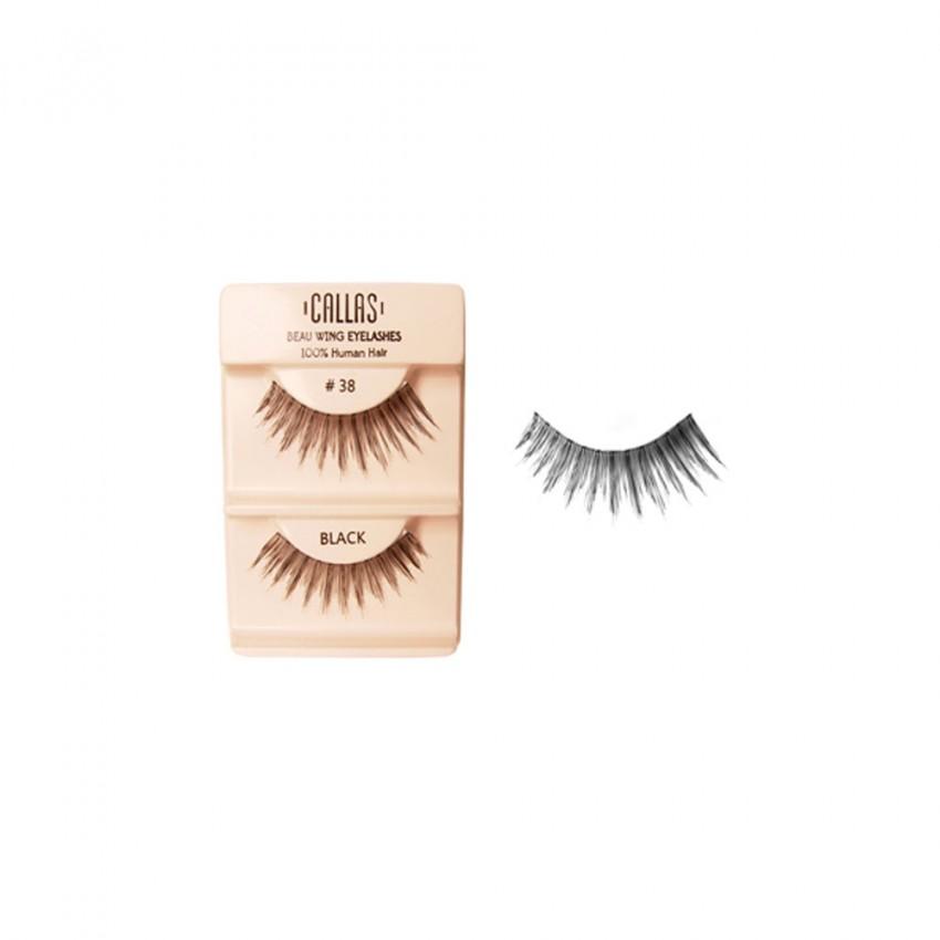 Callas Beau Wing Eyelashes #38 (1 pair x 12 sets)