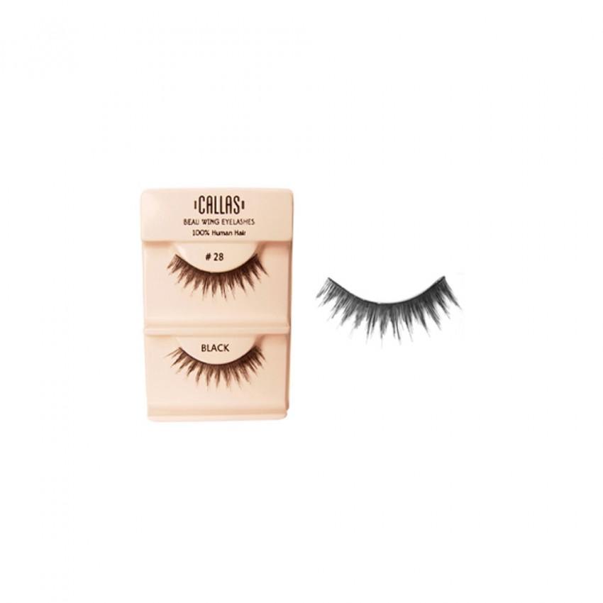 Callas Beau Wing Eyelashes #28 (1 pair x Minimum 12 sets)