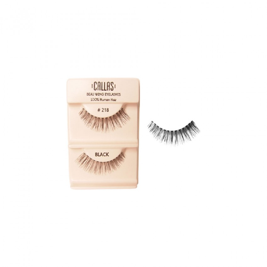 Callas Beau Wing Eyelashes #218 (1 pair x 12 sets)