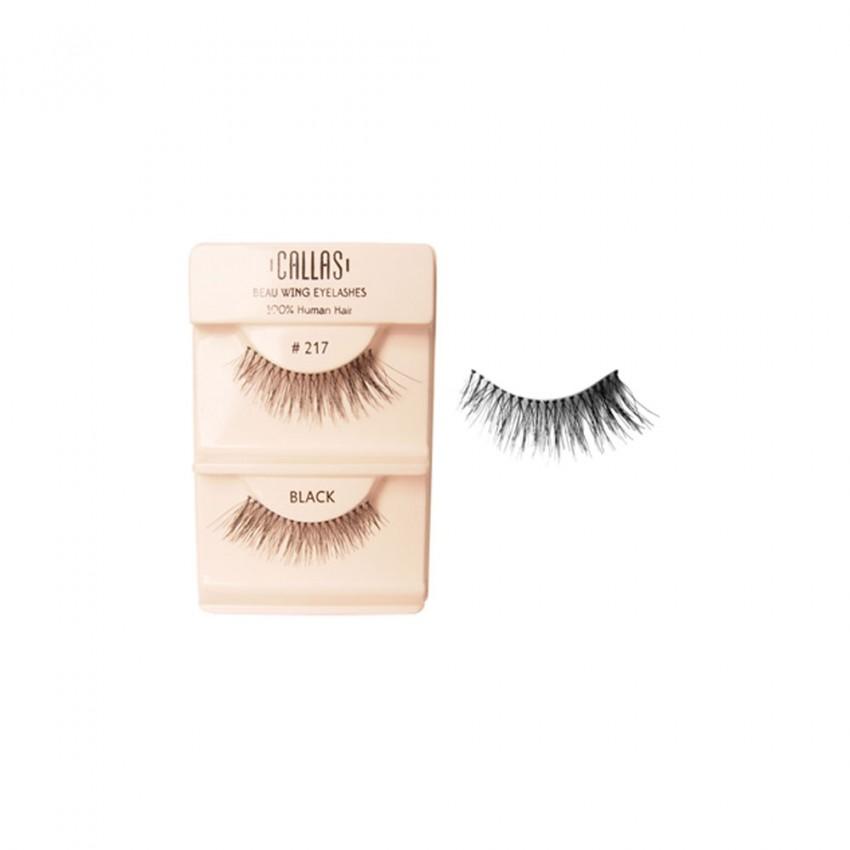 Callas Beau Wing Eyelashes #217 (1 pair x 12 sets)