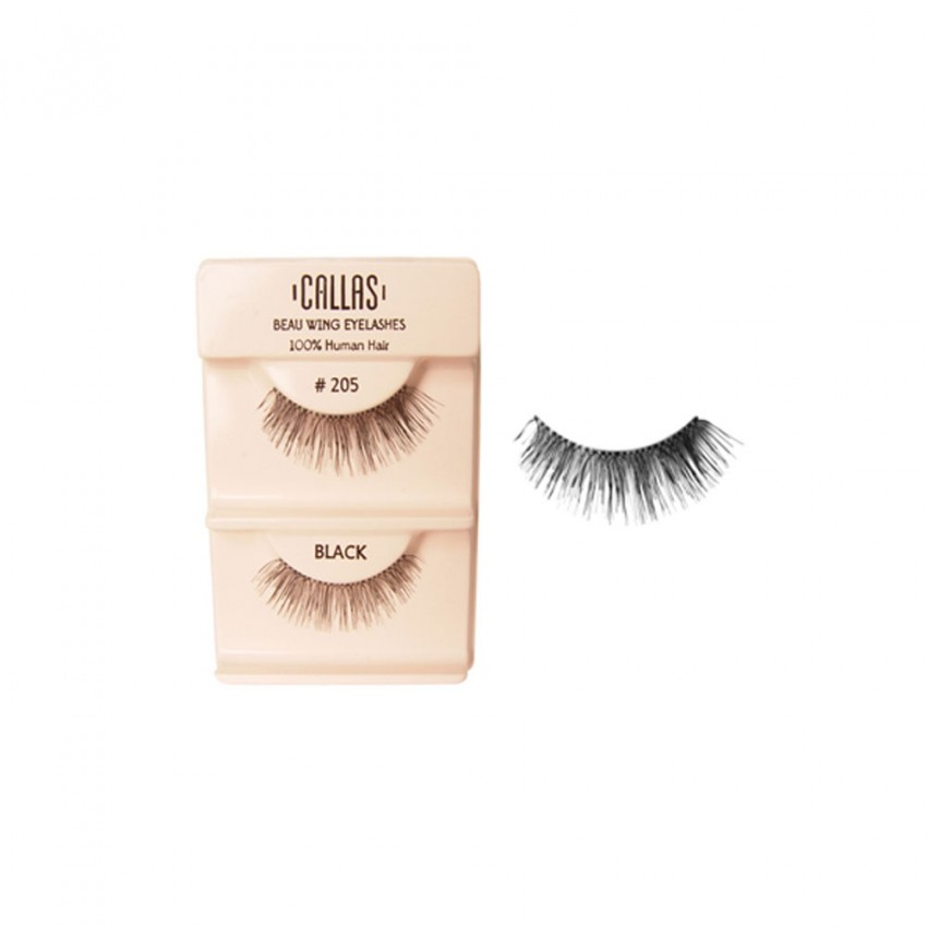 Callas Beau Wing Eyelashes #205 (1 pair x 12 sets)