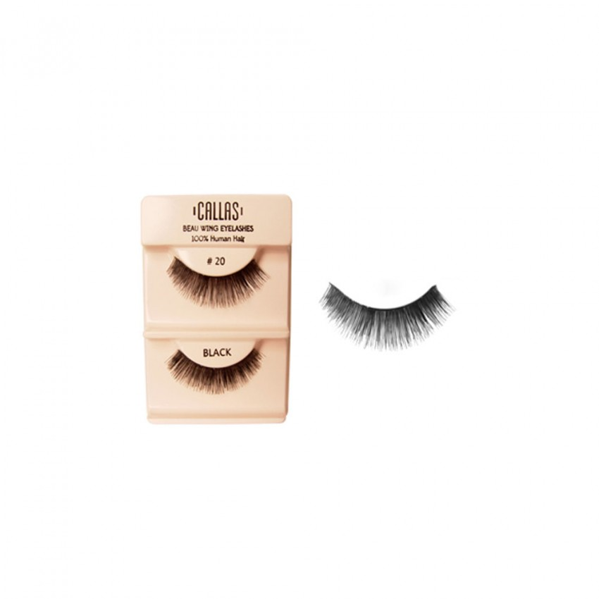 Callas Beau Wing Eyelashes #20 (1 pair x 12 sets)
