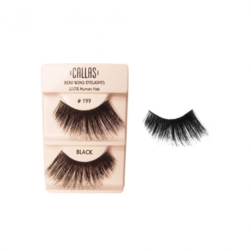 Callas Beau Wing Eyelashes #199 (1 pair x 12 sets)