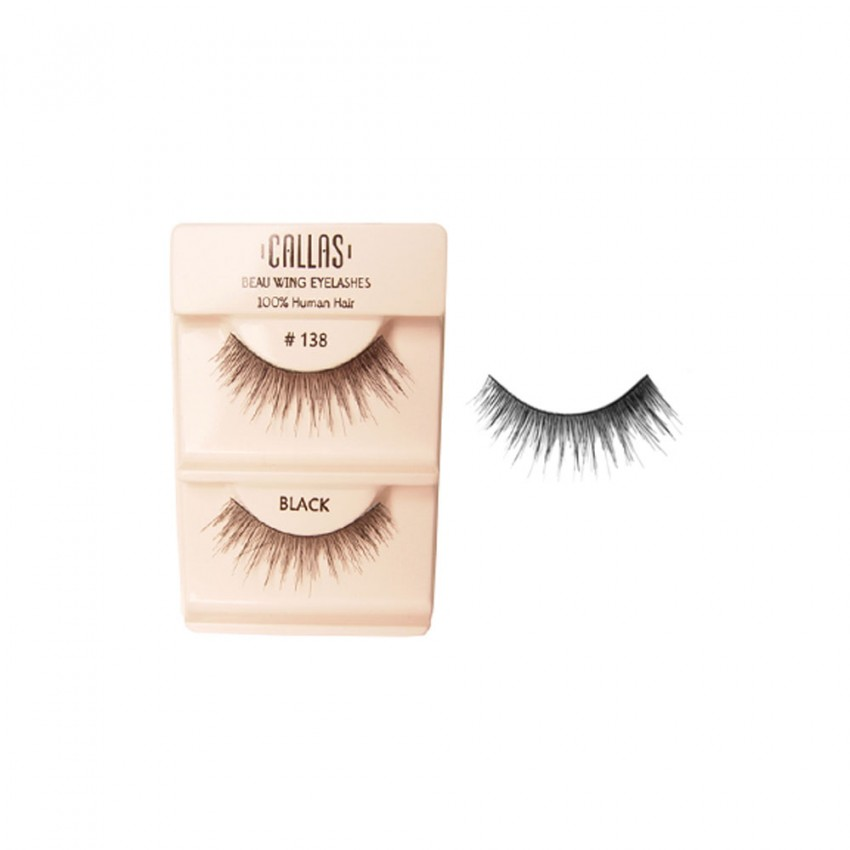 Callas Beau Wing Eyelashes #138 (1 pair x Minimum 12 sets)