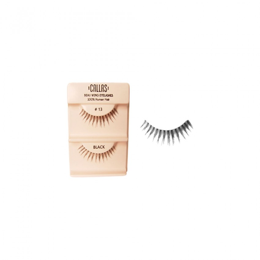 Callas Beau Wing Eyelashes #13  (1 pair x Minimum 12 sets)