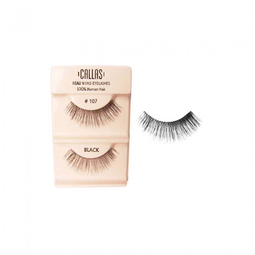Callas Beau Wing Eyelashes #107 (1 pair x 12 sets)