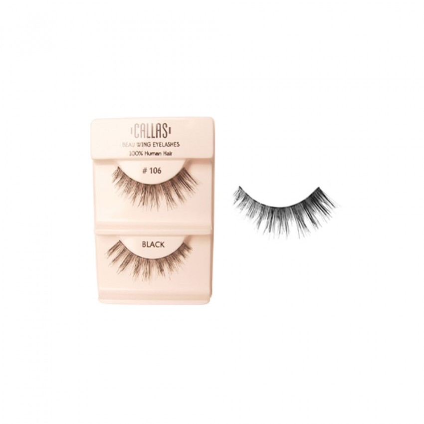 Callas Beau Wing Eyelashes #106 (1 pair x 12 sets)