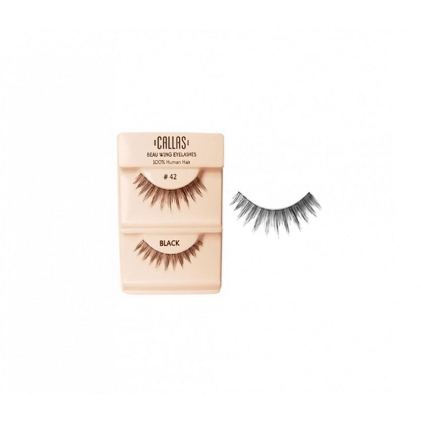 Callas Beau Wing Eyelashes #42 (1 pair x Minimum 12 sets)