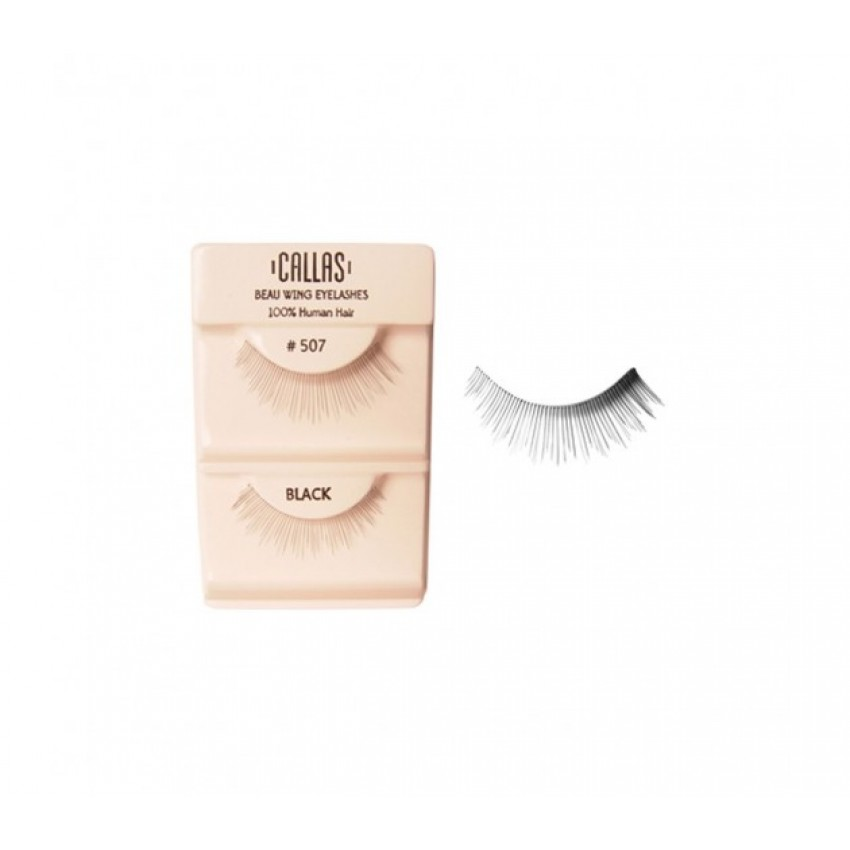 Callas Beau Wing Eyelashes #507 (1 pair x Minimum 12 sets)