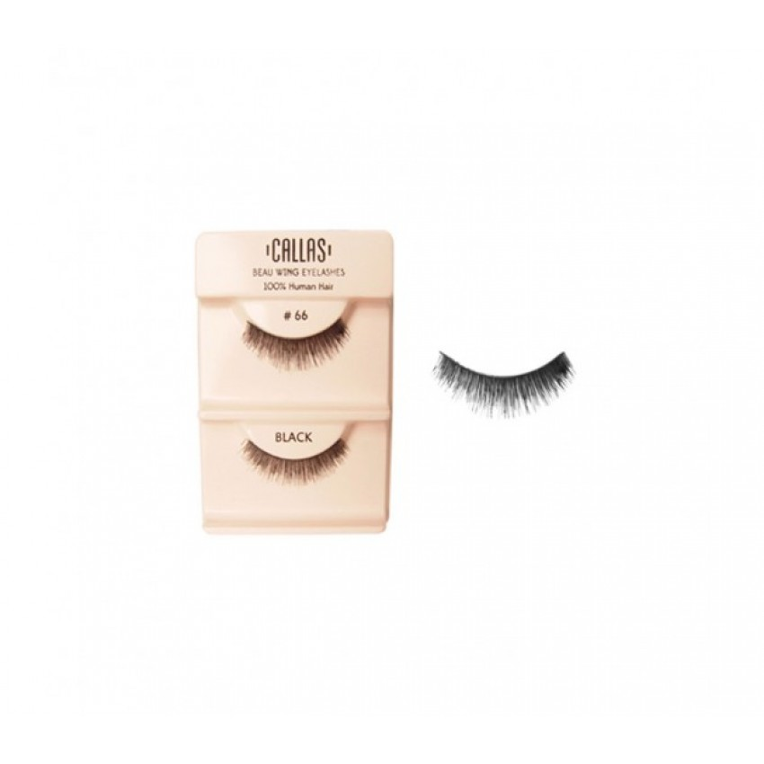 Callas Beau Wing Eyelashes #66 (1 pair x Minimum 12 sets)