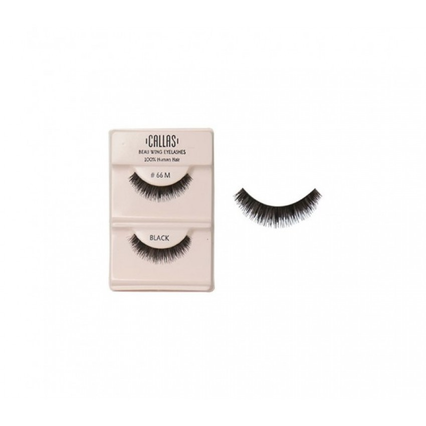 Callas Beau Wing Eyelashes #66M (1 pair x Minimum 12 sets)
