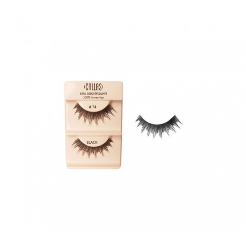 Callas Beau Wing Eyelashes #74 (1 pair x Minimum 12 sets)
