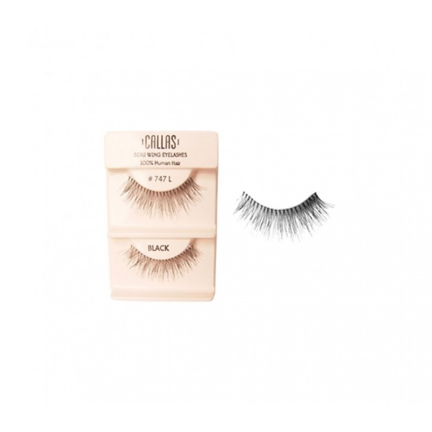 Callas Beau Wing Eyelashes #747 L (1 pair x Minimum 12 sets)