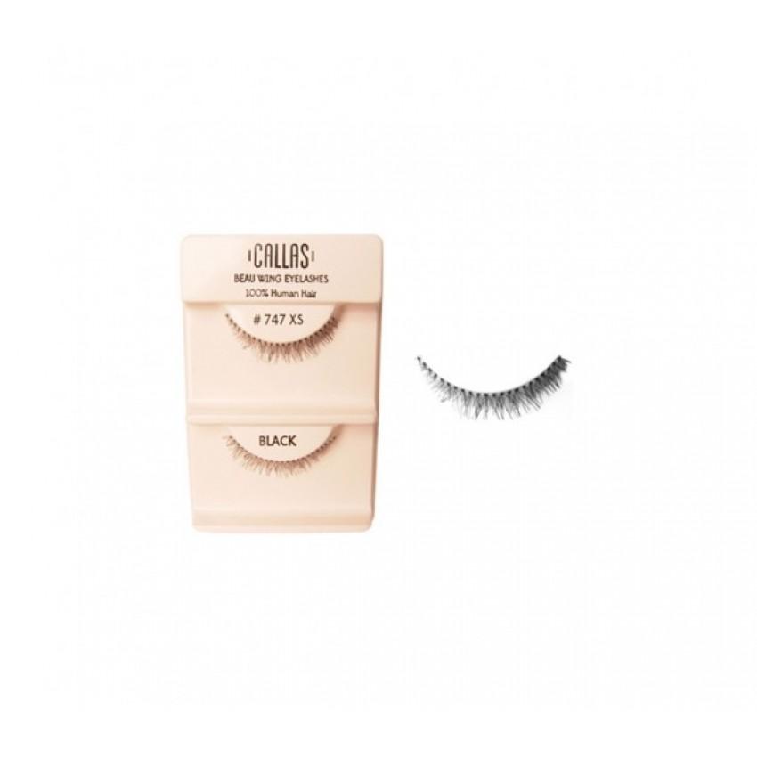 Callas Beau Wing Eyelashes #747 XS (1 pair x Minimum 12 sets)