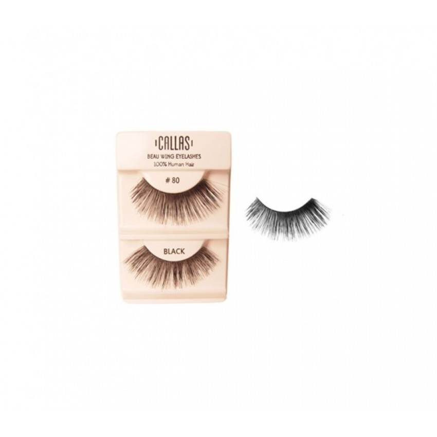 Callas Beau Wing Eyelashes #80 (1 pair x Minimum 12 sets)