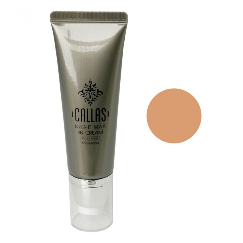 Callas Bright Max BB Cream SPF 30 PA++ (01 Light Beige) 1.35fl.oz/40ml