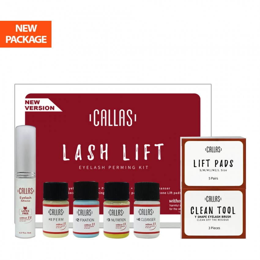 CALLAS Lash Lift Eyelash Perming Kit-New Version