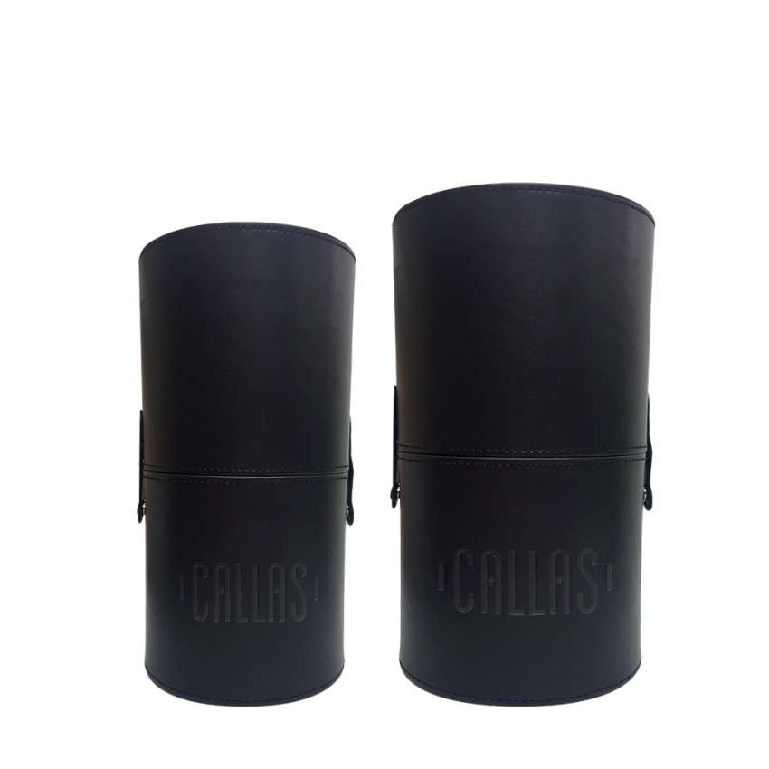 CALLAS MAKEUP BRUSH HOLDER 2PCS SET (Cylinder Type - FATTY and SKINNY )