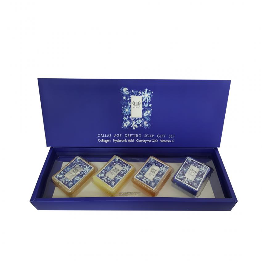 Callas Age Defying Soap Gift Set (3.88oz /110g x 4)