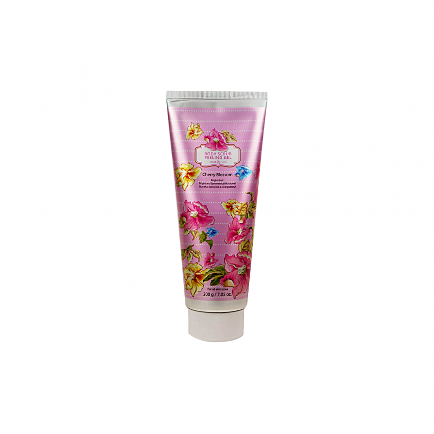 Dearderm Cherry Blossom Body Scrub Peeling Gel 7.05fl.oz /200ml