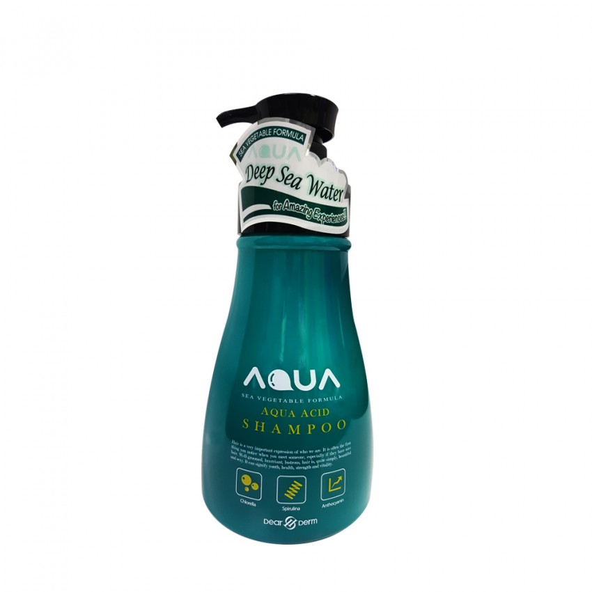 Dearderm Aqua Acid Shampoo Sea Vegetable Formula (Deep Sea) 1,000 ml / 33.8 fl.oz