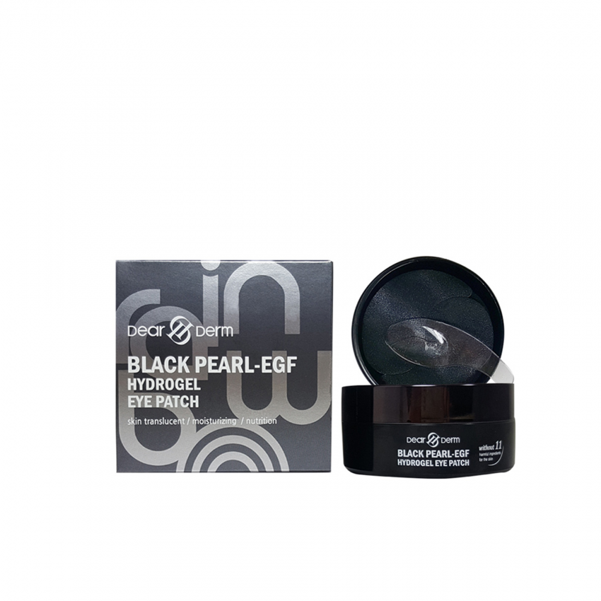 Dearderm Black Pearl-EGF Hydrogel Eye Patch (60patches)