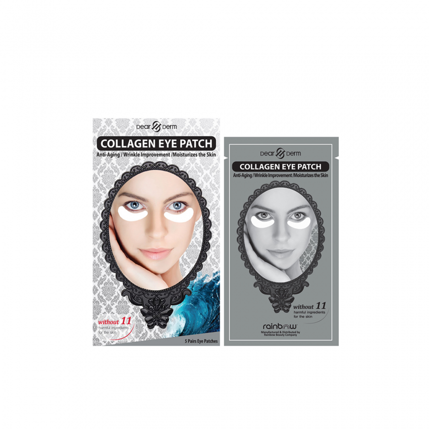 Dearderm Collagen Eye Patch 5 Pairs  ( Minimum Order 10 Box)