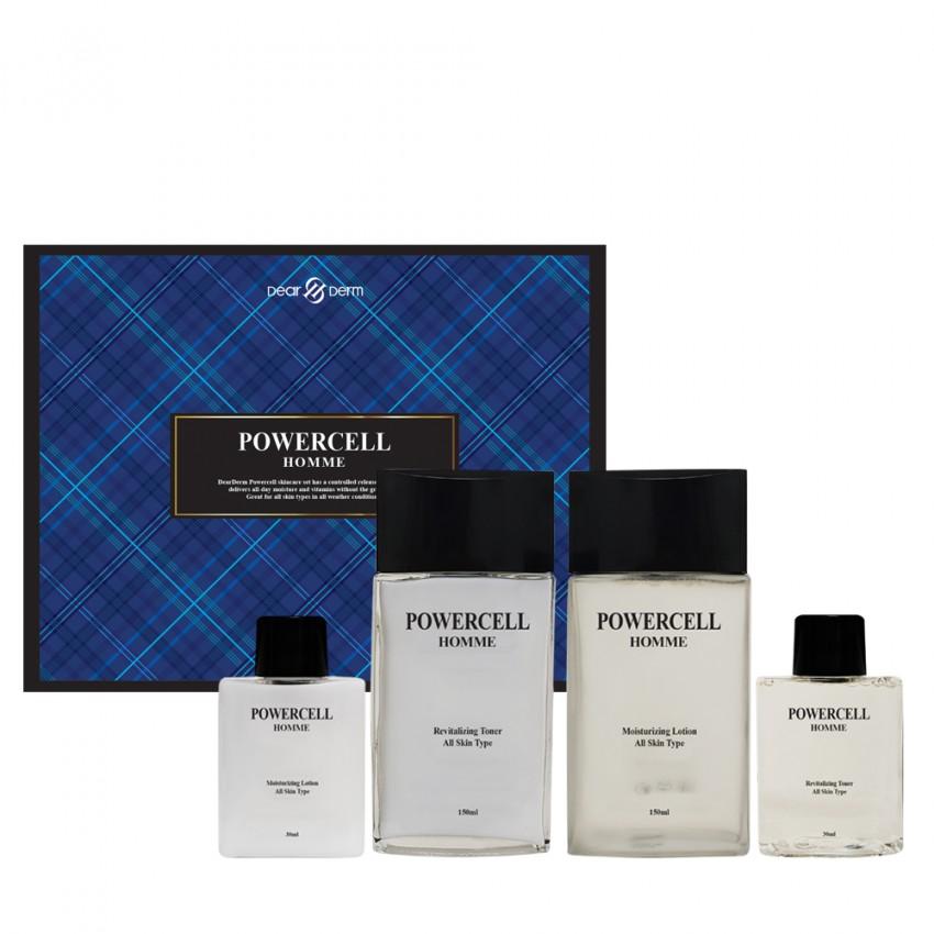 Dearderm Powercell Homme 2pc Skincare Set