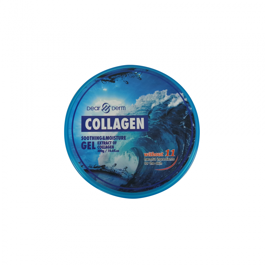 Dearderm Collagen Soothing & Moisture Gel  10.6fl.oz / 300gr.