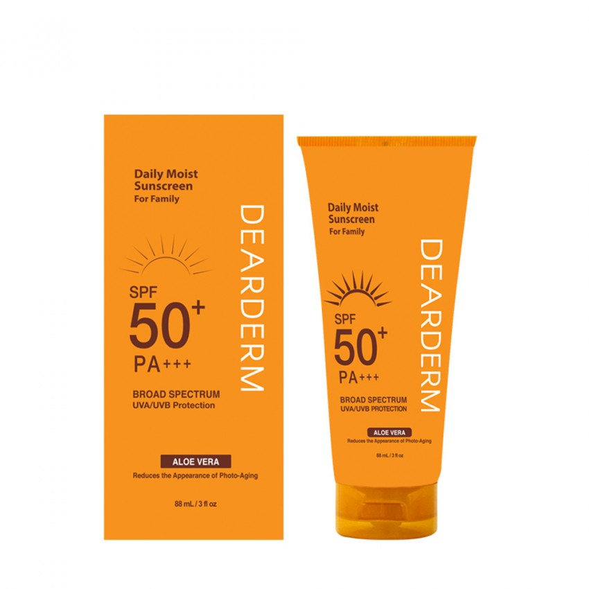 Dearderm Daily Moist Sunscreen - 88 mL / 3 fl oz