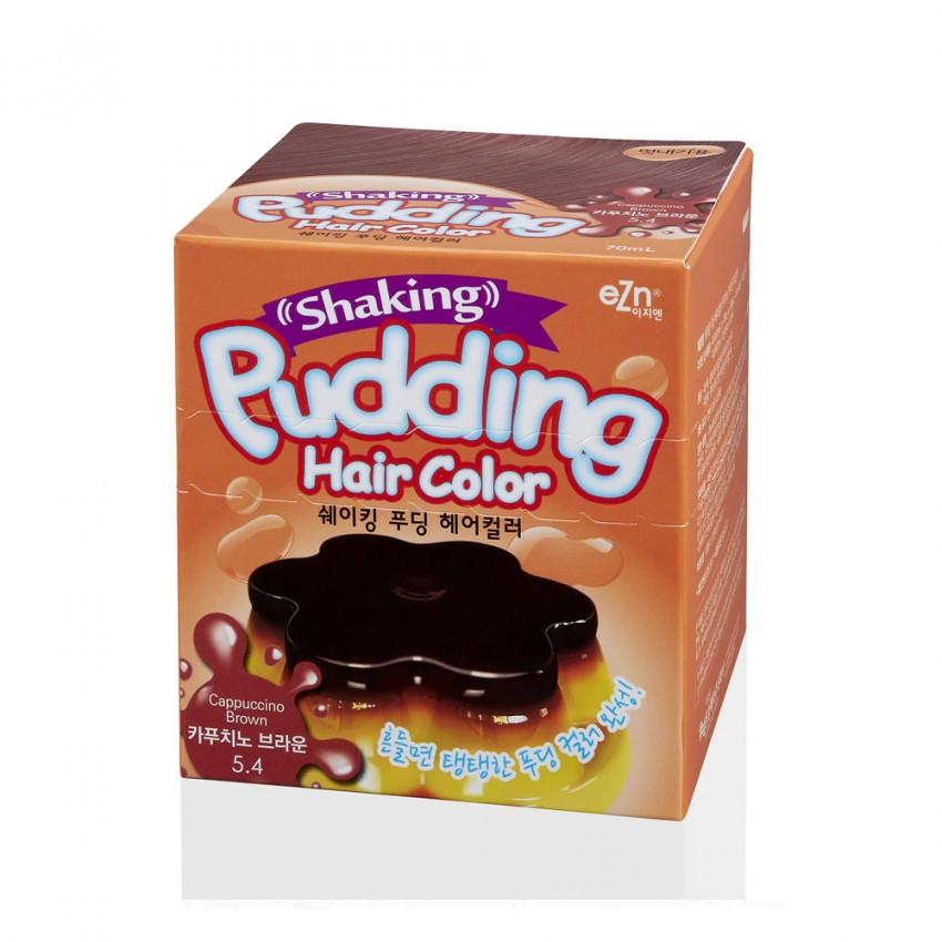 Dongsung eZn Shaking Pudding Hair Color (Cappuccino Brown 5.4) 2.37oz/67g