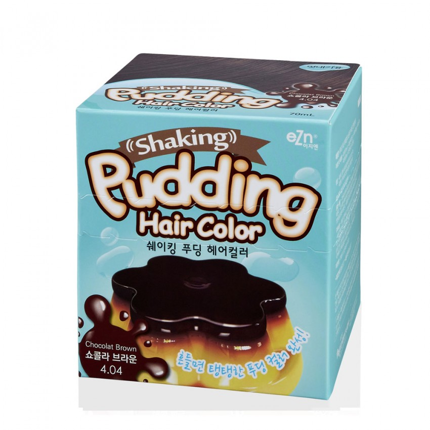 Dongsung eZn Shaking Pudding Hair Color (Chocolate Brown 4.04) 2.37oz/67g